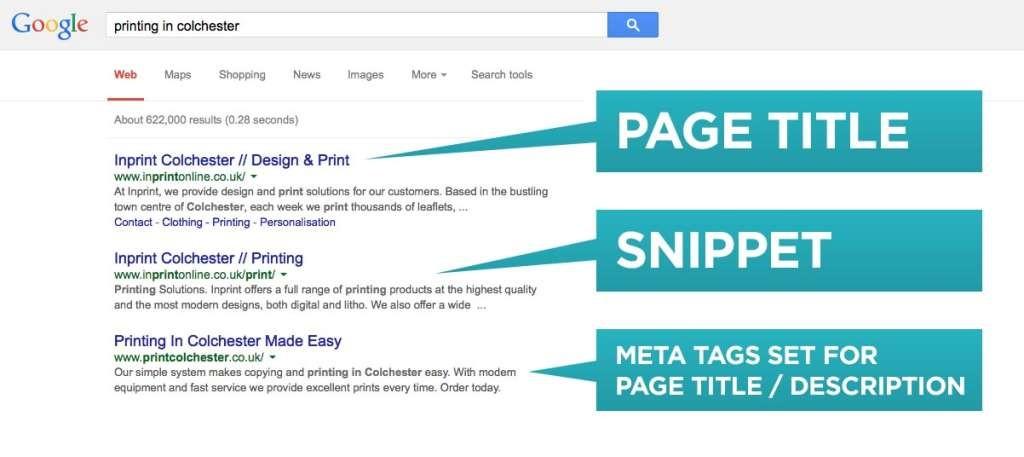 how to change website google description